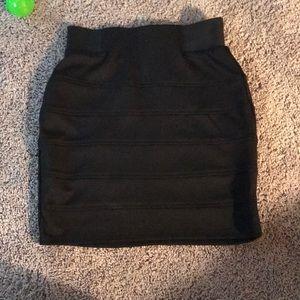 Iz Byer Black Skirt